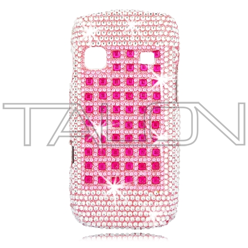 Samsung M580 Replenish Full Diamond Bling Phone Shell (Butterfly) by